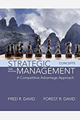 Strategic Management: A Competitive Advantage Approach, Concepts (2-downloads) Kindle Edition