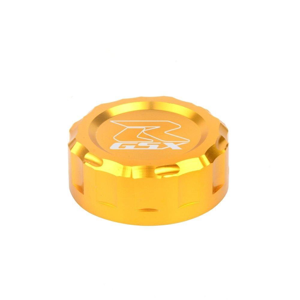 CNC Aluminum Oil Cover Rear Brake Fluid Reservoir Cap For GSXR1000 2007 2008 2009 2010 2011 2012 2013 2014 2015 2016 GSXR750 2011 2012 2013 2014 2015 2016 2017(ROLD)
