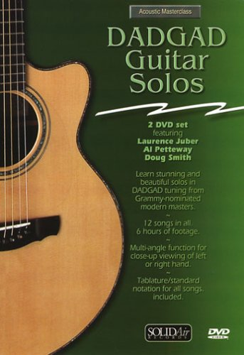 - Acoustic Masterclass: DADGAD Guitar Solos (DVD)