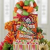 Skittles Extravaganza Candy Gift Basket