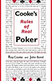 Cooke's Rules of Real Poker, Roy Cooke and John Bond, 1886070229