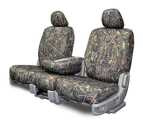 Custom Fit Seat Covers for Chevy/GMC 40-20-40 Style Seats - Conceal Camo Fabric