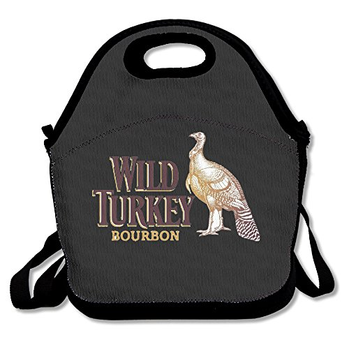 wild-turkey-bourbon-logo-lunch-box-bag-for-kids-and-adultlunch-tote-lunch-holder-with-adjustable-str