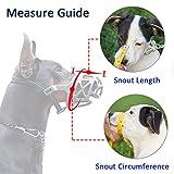 Dog Muzzle, Breathable Basket Muzzles for