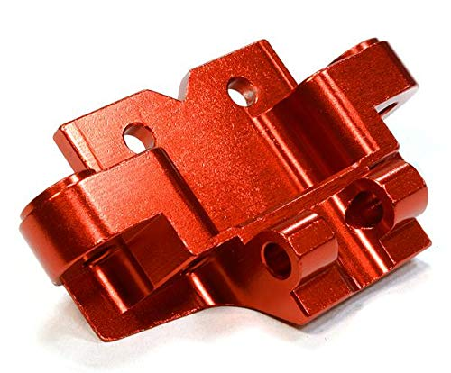 Integy RC Model Hop-ups C26034RED Billet Machined Front Lower Suspension Arm Mount for Axial 1/10 Yeti Rock Racer