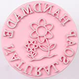 Handmade Soap Stamp Soapmaking Stamp Flower Garden D2