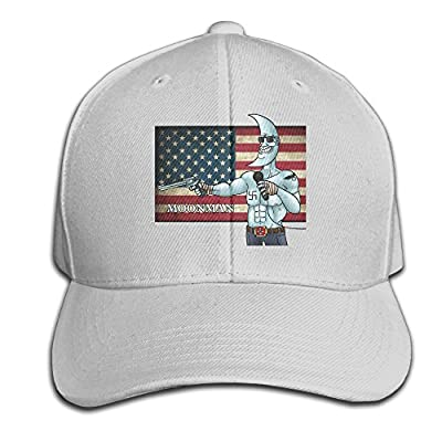 FT Dream Make America Great Again Moonman Print Snapback Hats Baseball Trucker Caps For Mens Womens Unisex
