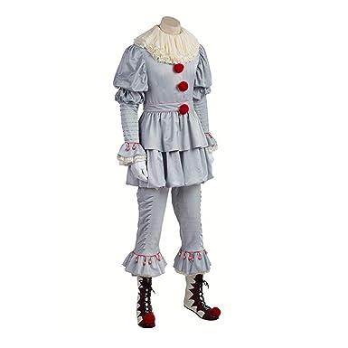 Lbellay COS Disfraz de Halloween Ropa Cosplay de Terror para ...