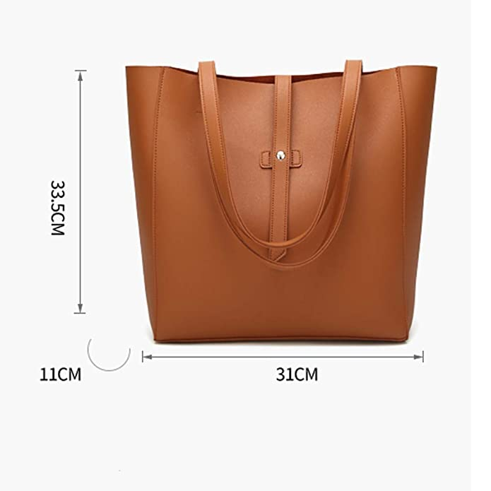 Amazon.com: Women Top Handle Satchel Handbags One Shoulder Bag Overnight Messenger Tote Bag Purse: Shoes