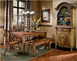 Ashley Furniture Signature Design - Berringer Rectangular Dining Room Table - Vintage Casual - Rustic Brown