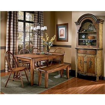 Amazon.com - Berringer Rectangular Dining Room Table (Table Only ...