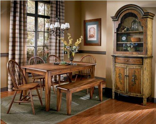Ashley Furniture Signature Design - Berringer Rectangular Dining Room Table - Vintage Casual - Rustic Brown by Signature Design by Ashley