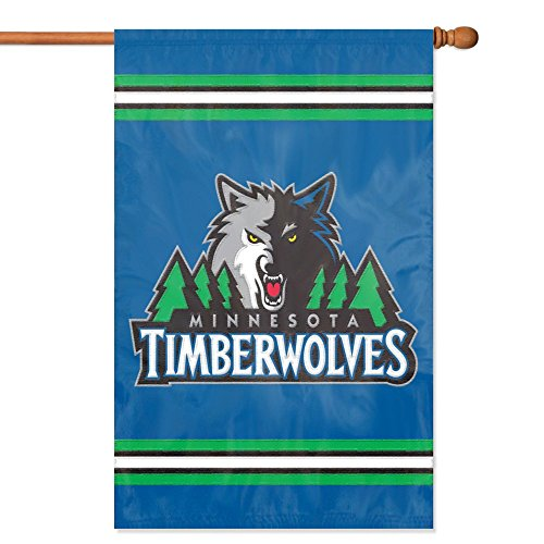 Party Animal Minnesota Timberwolves Banner NBA Flag