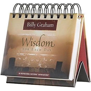 Flip Calendar - Billy Graham Wisdom for Each Day