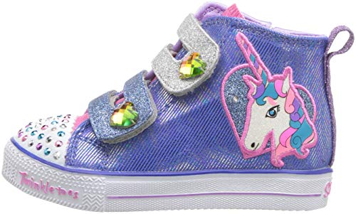 Pictures of Skechers Kids' Shuffle Lite-Unicorn Pals Sneaker 10995N 5