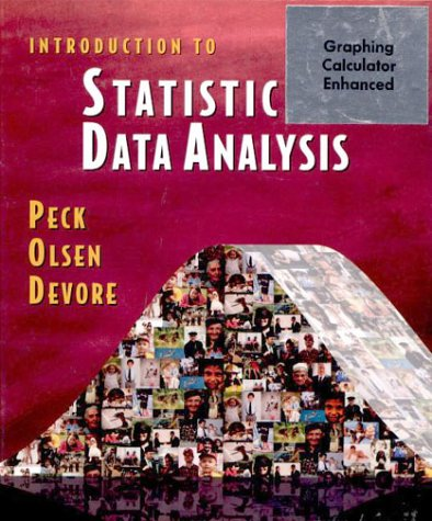 Introduction to Statistics and Data Analysis (with CD-ROM) (Available Titles CengageNOW)