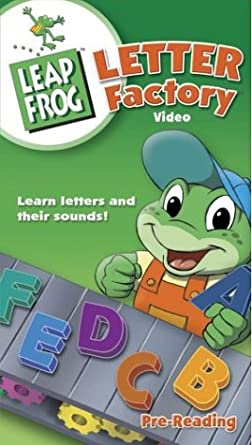 amazon com leap frog letter factory vhs leapfrog movies tv