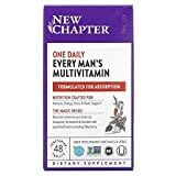 New Chapter Every Man's One Daily Multivitamin, Whole Food multivitamin for Men 2 x 48 Pack