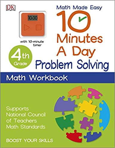 10 Minutes a Day: Problem Solving, Fourth Grade (Math Made Easy ...
