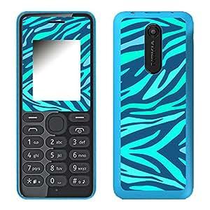 """Motivos Disagu Design Skin para Nokia 108 Dual Sim: """"Zebra No.4"""""""