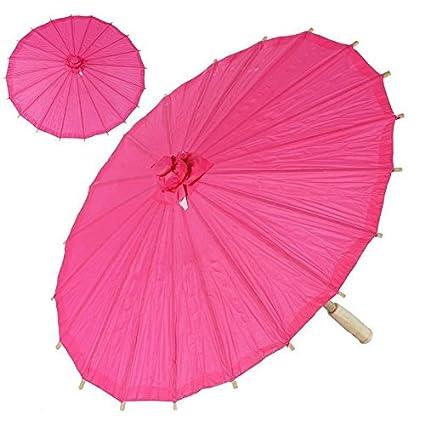 balsacircle – chino paraguas sombrilla de papel de boda fiesta mesa hogar decoraciones suministros baratos