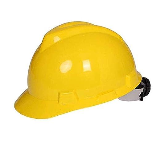 LMLSHAQM Casco De Trabajo De Construcción De Sombreros Duros, con ...