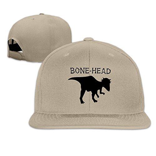 [Runy Custom Dinosaur Bones Adjustable Baseball Hat & Cap Natural] (Mens Dallas Cowboy Football Costumes)