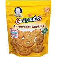 4-Pack Gerber Graduates Arrowroot Cookies Pouch, 5.5 Ounce