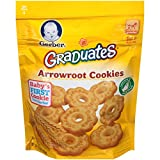 Gerber Graduates Arrowroot Cookies Pouch, 5.5 Ounce (Pack of 4) For Sale