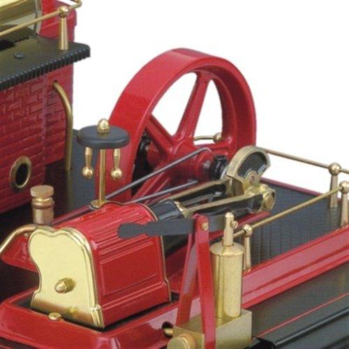 Wilesco D21 - Maqueta de máquina de vapor (capacidad de caldera 500 ml, incluye válvula de seguridad, manómetro y silbato): Amazon.es: Juguetes y juegos