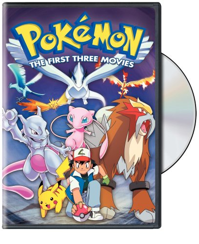 Pokemon: The First Three Movies (3 Movie Pokemon)