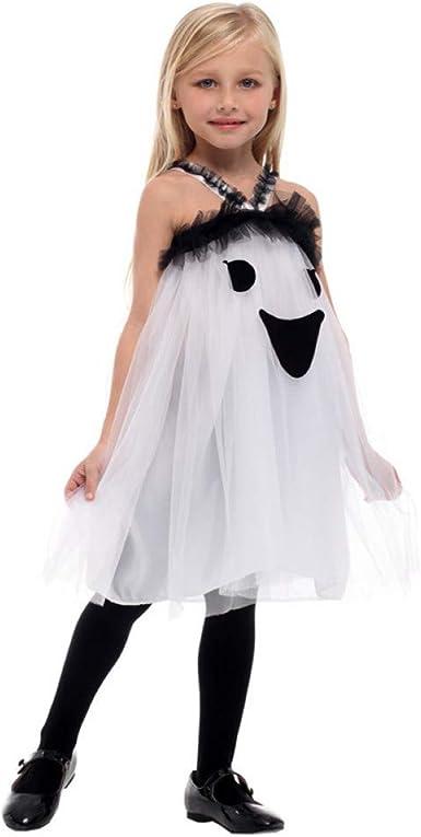 SHOPZZ Disfraz De Halloween Horrible Niños Niñas Disfraces De ...