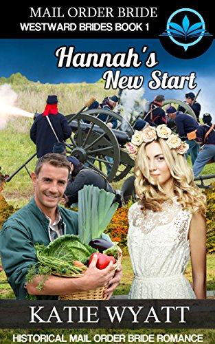 Mail Order Bride Hannah's New Start: Historical Mail order Bride Romance (Westward Brides Series Book 1) by [Wyatt, Katie]