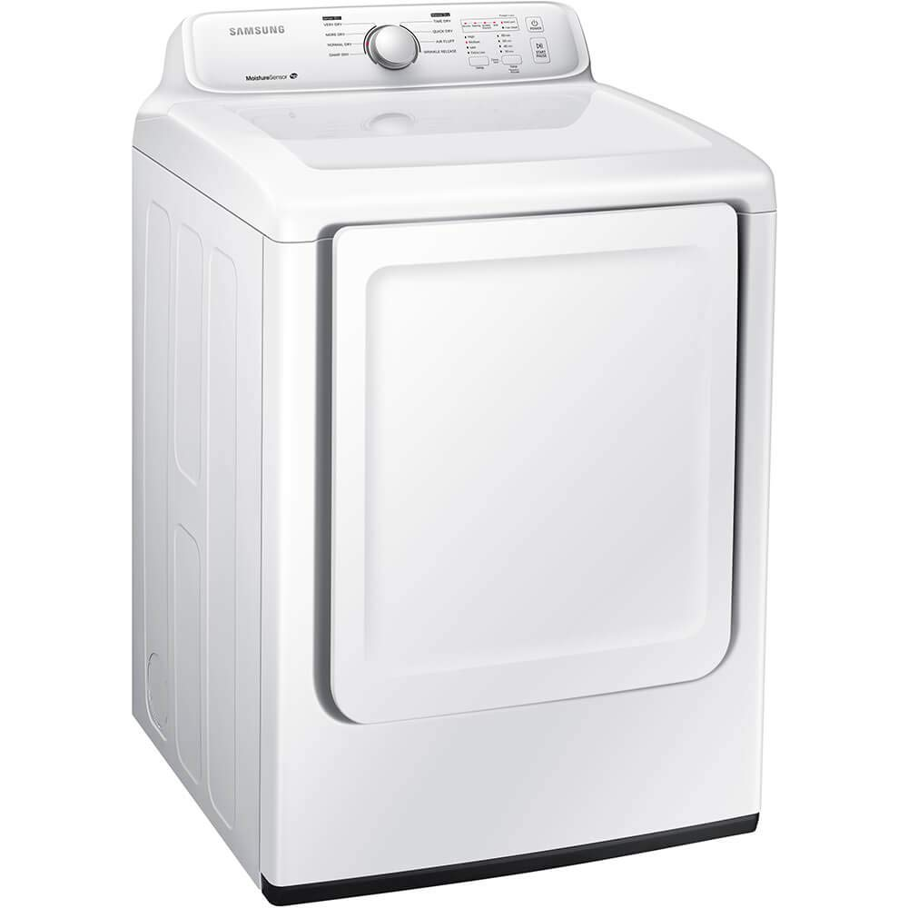 Samsung DV40J3000EW 7 2 Cu  Ft  White Electric Dryer