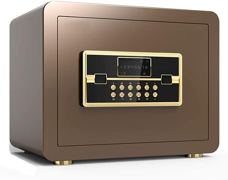 Box Digital Electronic Cabinet with Keypad Lock Solid Steel Great for Home Office Hotel Business Cash Jewelry Wallet Color : Style1, Size : 25x25x35cm Security Safes ZCF Security Safe