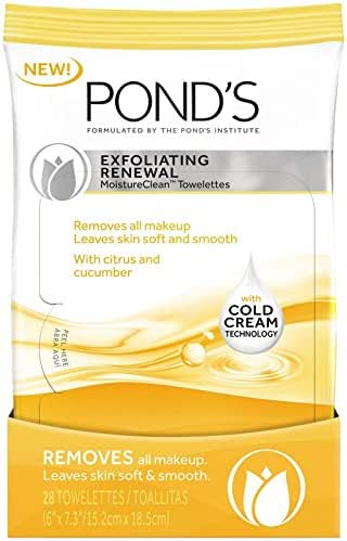 Facial Cleansing Wipes: Pond's Exfoliating Renewal Wipes