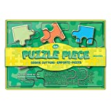 Product review for Fox Run Brands Puzzle Pieces Cookie Cutter Set, Metallic