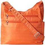 Lug Cable Car Satchel, Sunset Orange, One Size, Bags Central