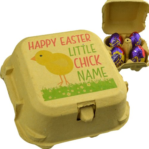 Personalised egg boxes for easter gifts with 4 creme eggs amazon personalised egg boxes for easter gifts with 4 creme eggs negle Gallery