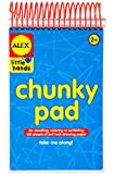 "ALEX Toys Little Hands My Chunky Pad Thick, 6""x9"", 150 Sheets"