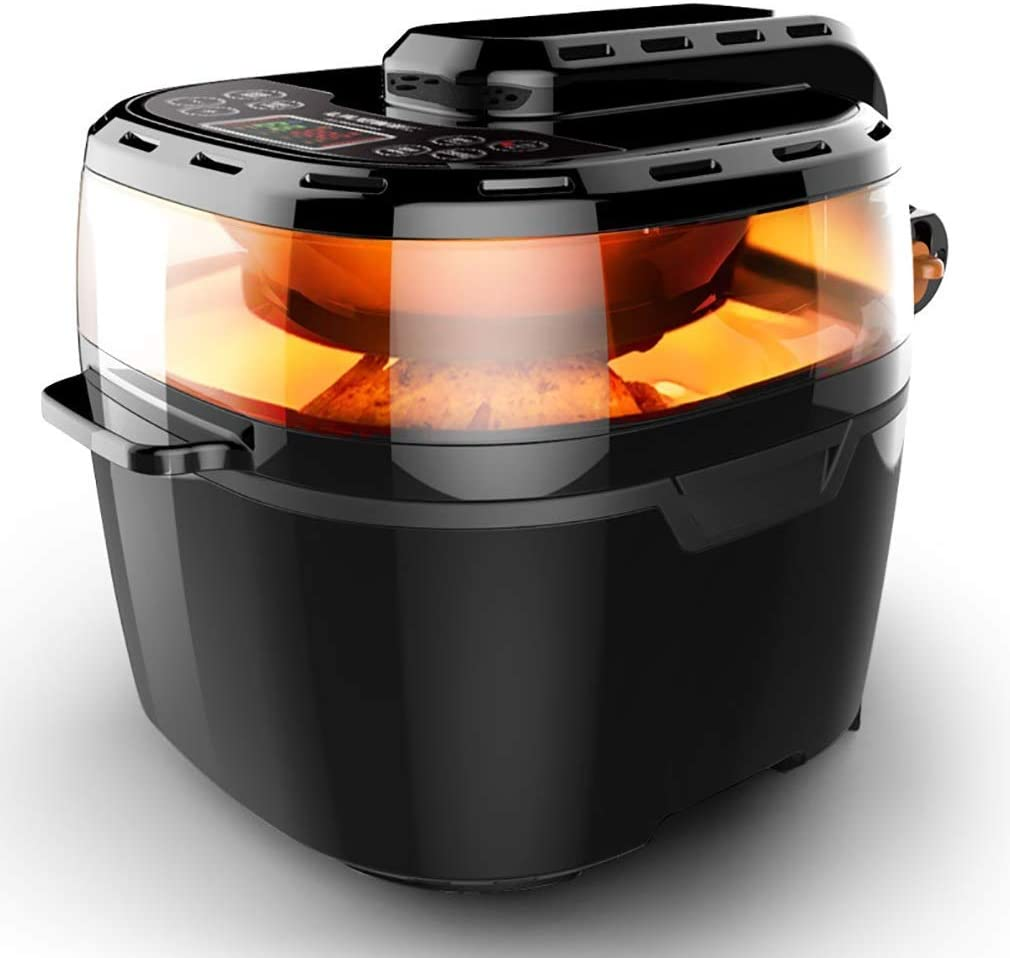 VPCOK Power Air Fryer, 10.6 Quart, XXXL, 7 Cooking Presets, 1-Year Warranty, for Family of 6-8