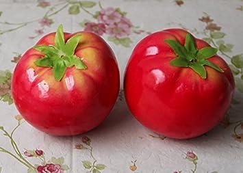 Amazonde Lotte Shopping Künstliche Gemüse Kunststoff Deko Tomaten
