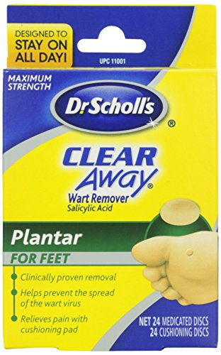 Dr Scholl's Clear Away Plantars Warts Remover, 1 ct