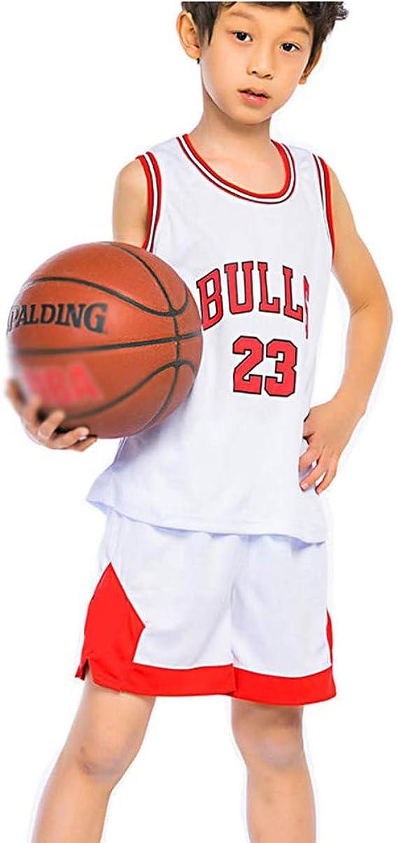ZGJY Conjunto de Camiseta para niños Chicago Bulls Michael Jordan ...