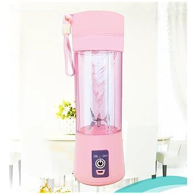 DN&YAN Acier inoxydable personal blender, Coupe du portable juicer Mélangeur électrique fruits Mélangeur de jus usb, Rechargeable, 300 po, 50hz-C