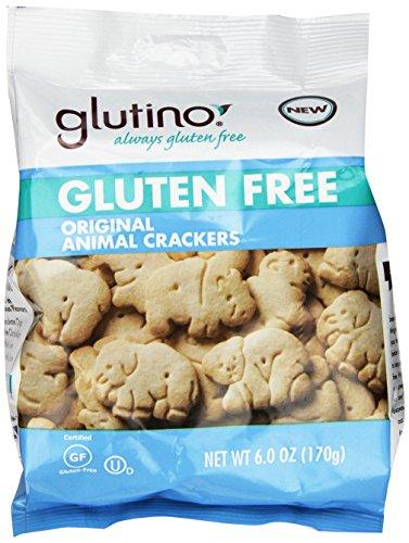 Glutino Gluten Free Animal Crackers, Original Vanilla, 6 Count