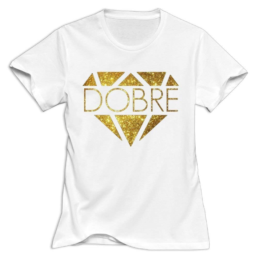 Womens Summer T Shirt Dobre Brothers Tee Shirts for Youth Boys Tshirt Short Sleeve T-Shirt Round Neck Cotton Clothes Tops