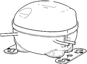 SAMSUNG MSV172AL2J/SM3 Refrigerator Compressor Genuine Original Equipment Manufacturer (OEM) Part