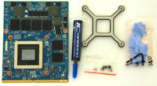 3GB Nvidia GeForce GTX 770M upgrade kit for ALIENWARE 15X