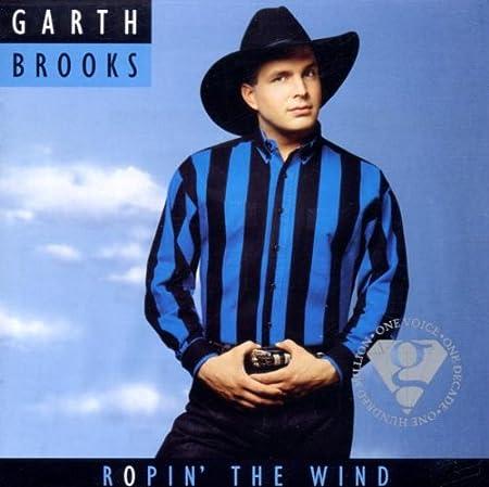Brooks Garth Ropin The Wind By Garth Brooks 2000 Original